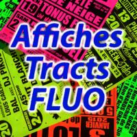 les Affiches et tracts sur papier FLUO