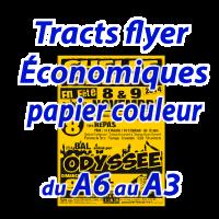 Tracts ECO papier recyclé